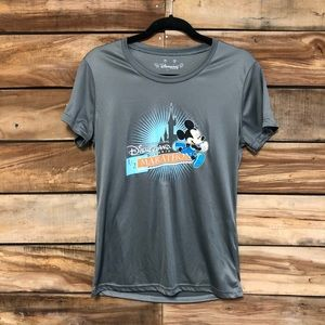 Disneyland Paris Mickey 1/2 marathon athletic tee
